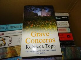 GRAVE CONCERNS - REBECCA TOPE - PAPERBACK BOOK