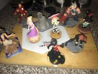 Disney infinity 2.0 game and figures for Xbox 360