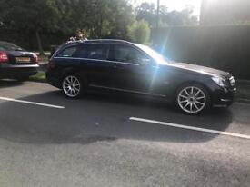 Mercedes Benz C250 estate diesel in Black