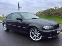 2004 54 Facelift BMW 320 CD SE 6 SPEED COUPE # service history # mv3 Alloys # cheap insurance