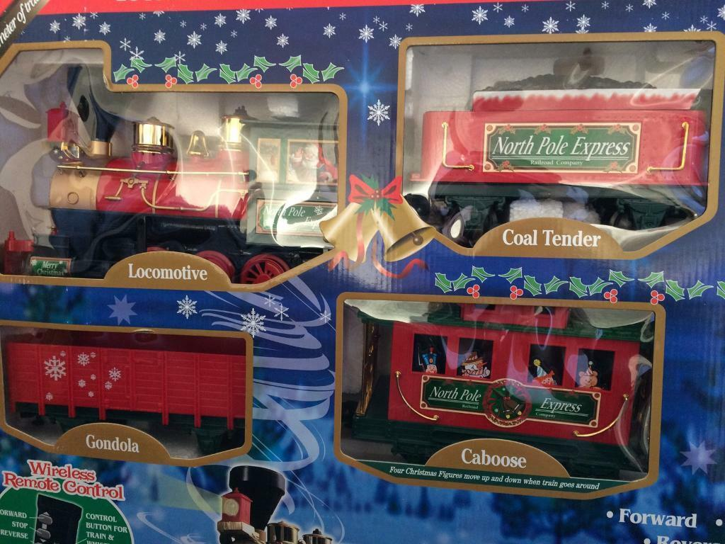 Polar express train set | in Newcastle-under-Lyme, Staffordshire ...