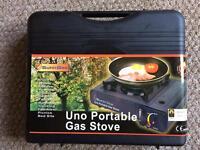 New & unused Sunn Gas Uno portable gas stove
