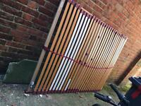 Double bed slat base - without bed frame