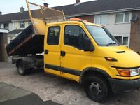 IVECO DAILY TIPPER 2.8TD. 50C13 2004