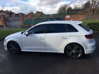 AUDI A3 S LINE SPORTBACK 5Dr 2015 ++++ PX/ GENUINE LOW MILEAGE, FULL SPEC!