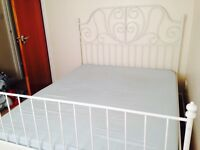 KING SIZE Shabby Chic Bed Frame