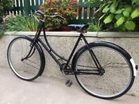 Vintage lady's Raleigh bicycle