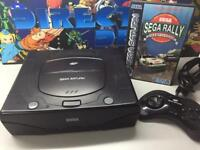 Sega saturn all leads and controller