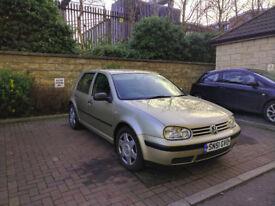 Volkswagen Golf 1.6 SE, Low Miles, MOT June