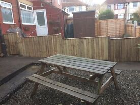 Fencing and fence repairs Leeds & Otley