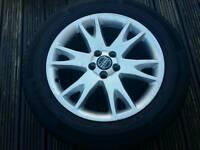 Volvo xc90 alloys with tyres