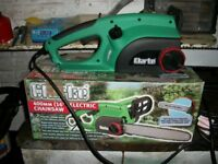 Clarkes electric Chainsaw Never used