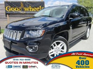 2014 Jeep Compass Limited   AWD   NAV   LEATHER   ROOF