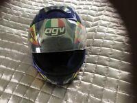 AGM motorcycle helmet.