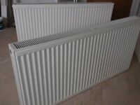 Stelrad Compact radiators x 2. 1200x600. K1 and K2. Excellent condition, in use 3 months only