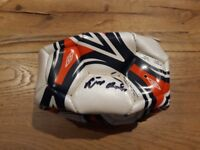 Eusebio signed football