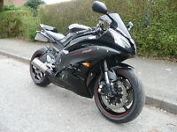 Yamaha R6 R Super Sports.Black