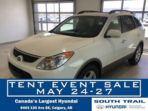 2012 Hyundai Veracruz Limited (AUTO, AWD, LEATHER)