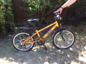 "Child's 18"" bike - Apollo from Halfords"