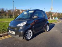 Smart Fortwo Coupe 2009 black 1 year mot and 2 keys