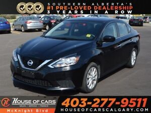 2017 Nissan Sentra 1.8 SV / Sunroof / Back Up Cam / Bluetooth