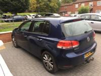 2010 Vw golf 1.6 tdi MATCH salvage 1.9 damaged 2.0 cat d c spares repairs