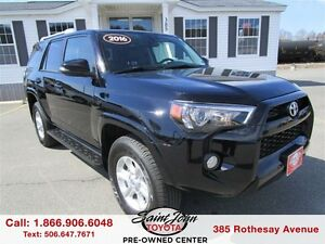 2016 Toyota 4Runner SR5 with Sunroof + Nav $325.05 BIWEEKLY!!!