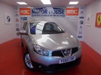 Nissan Qashqai ACENTA DCI(FREE MOT'S AS LONG AS YOU OWN THE CAR!!!!) (silver) 2010