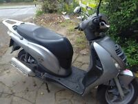 I got a Honda 125 pes in good condition good runner 58 plate