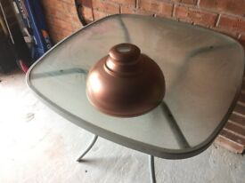 Copper Effect Lampshade