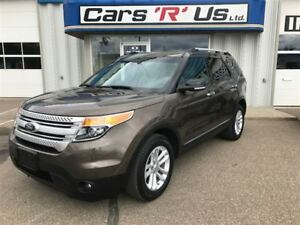 2015 Ford Explorer XLT 4WD 7 PASSENGER REAR DVD (NO PST) 106K!
