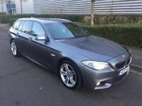 BMW 530d estate, Msport, xenon headlights, big satnav, leather interior.