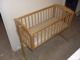 Mothercare Rocking Crib for sale