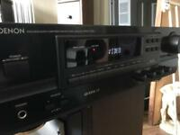Denon Retro amp/tuner hifi separates with remote