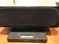 Sony dock and speaker with audio line in