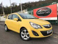 2013 (63 reg) Vauxhall Corsa 1.4 i 16v SXi 5dr Hatchback Petrol 5 Speed Manual
