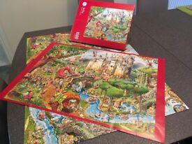 Heye 1500 piece Jigsaw – Fairy Tales (Hugo Prades)