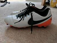 Football boots size 8