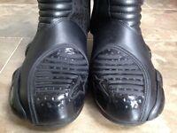 Alpine Stars motor cycling boots