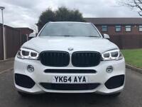 BMW X5 2.0 xDRIVE25D | M SPORT | S/TRONIC | MINERAL WHITE | 7 SEATS | 2014/64 | PRONAV | BMW HISTORY