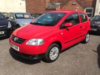 Volkswagen FOX 1.2 3dr- 2007, 2 Lady Owners, 73K Miles, 2 Keys, 12 MONTHS MOT, Service History £1695