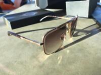 Dita Mach Five Sunglasses Gold Aviater - Brand New Unworn