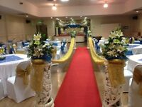 Jasmin's. Wedding & Events Venue Hire. 250 guests. Licensed until 2am. Special Offer Hire £500.00