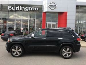2014 Jeep Grand Cherokee Overland, 1 OWNER, ACCIDENT FREE !