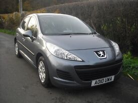 Peugeot 207 1.4 diesel, one owner, only 21000 miles