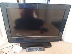 Sony BRAVIA LCD Flatscreen HD TV.