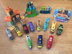 Talking Chuggington Trains-Full Set