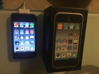 IPHONE 3GS 8GB BLACK BOXED VGC