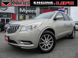 2014 Buick Enclave DOUBLE SUNROOF, BROWN LEATHER INTERIOR, BACK