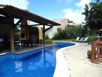 Excellent summer house on Brasilian beach
